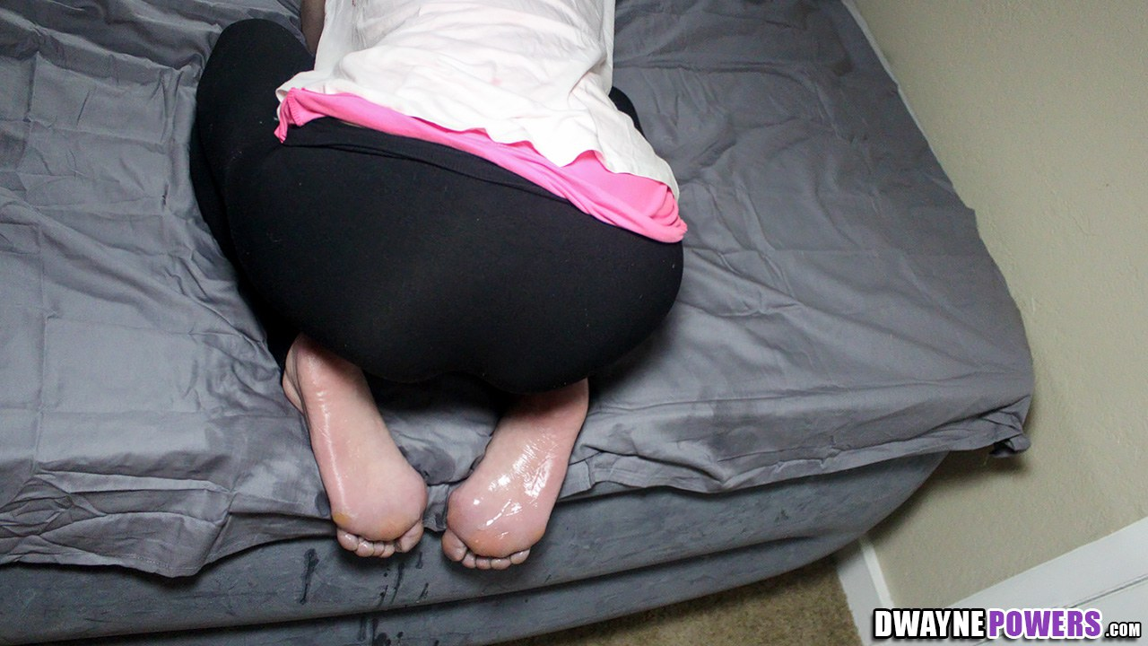 Cum on My Soles From Behind