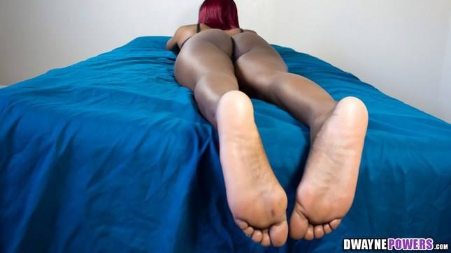 Dwayne Powers Mocha Legs and Soles of Mocha