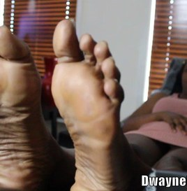 Shoot Your Load All Over My Ebony Soles 2