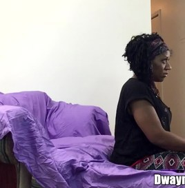 (Behind the Scenes) Black Granny Taking It Up The Booty-Hole (ANAL) 1
