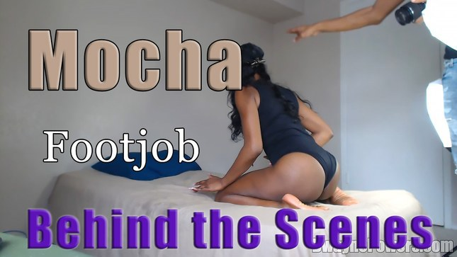 Dwayne Powers Mocha Behind the Scenes Mocha Footjob