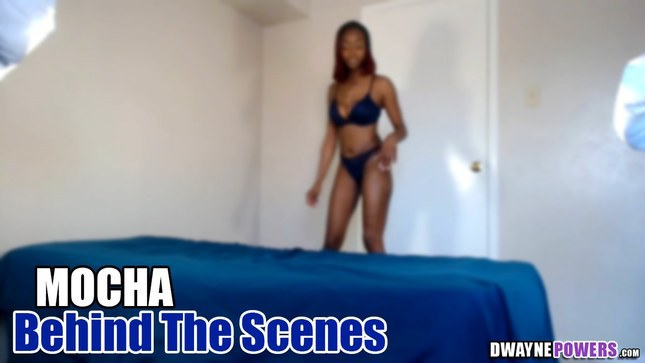 Mocha Behind the Scenes of Mocha Legs and Soles